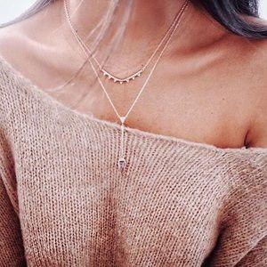 Stella & Dot layers Necklace